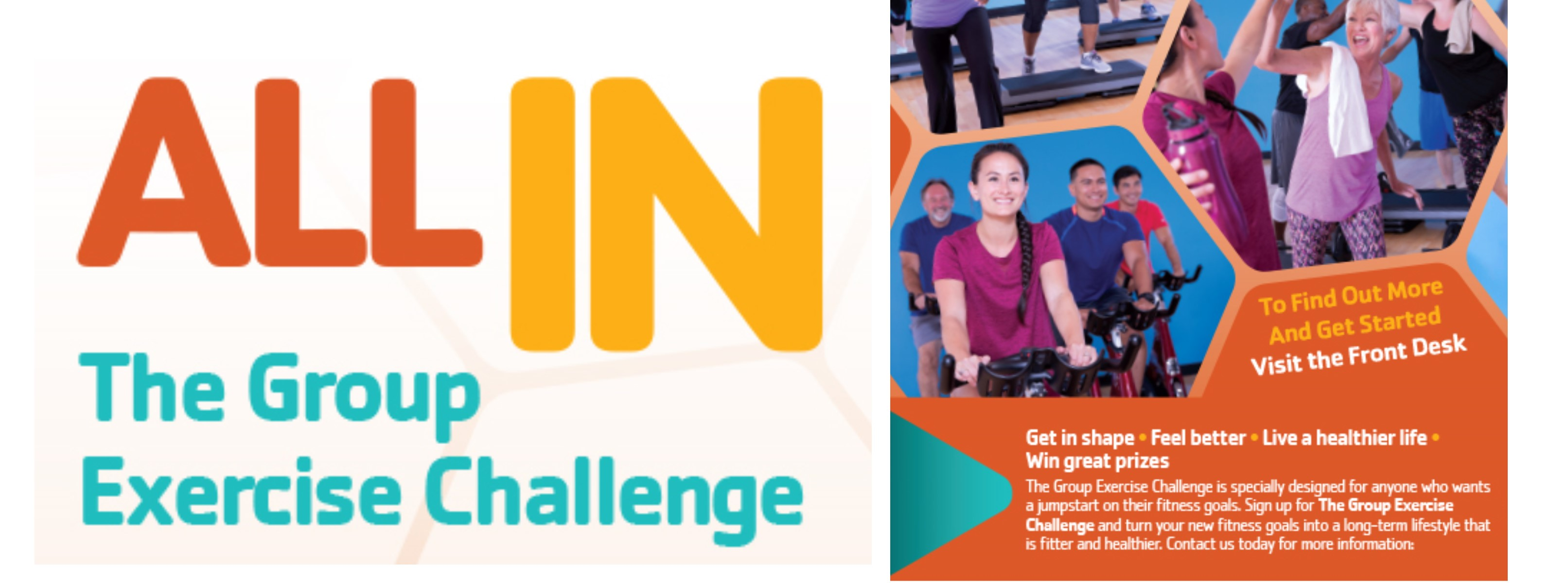 All In! The Group Exercise Challenge