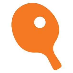 Pickleball-racket-ball-silhouette