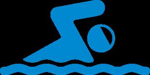 Swimmer-silhouette