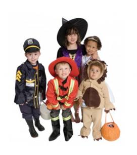 children-in-halloween-costumes
